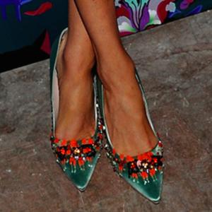 Meghan Markle Miu Miu Satin Shoes