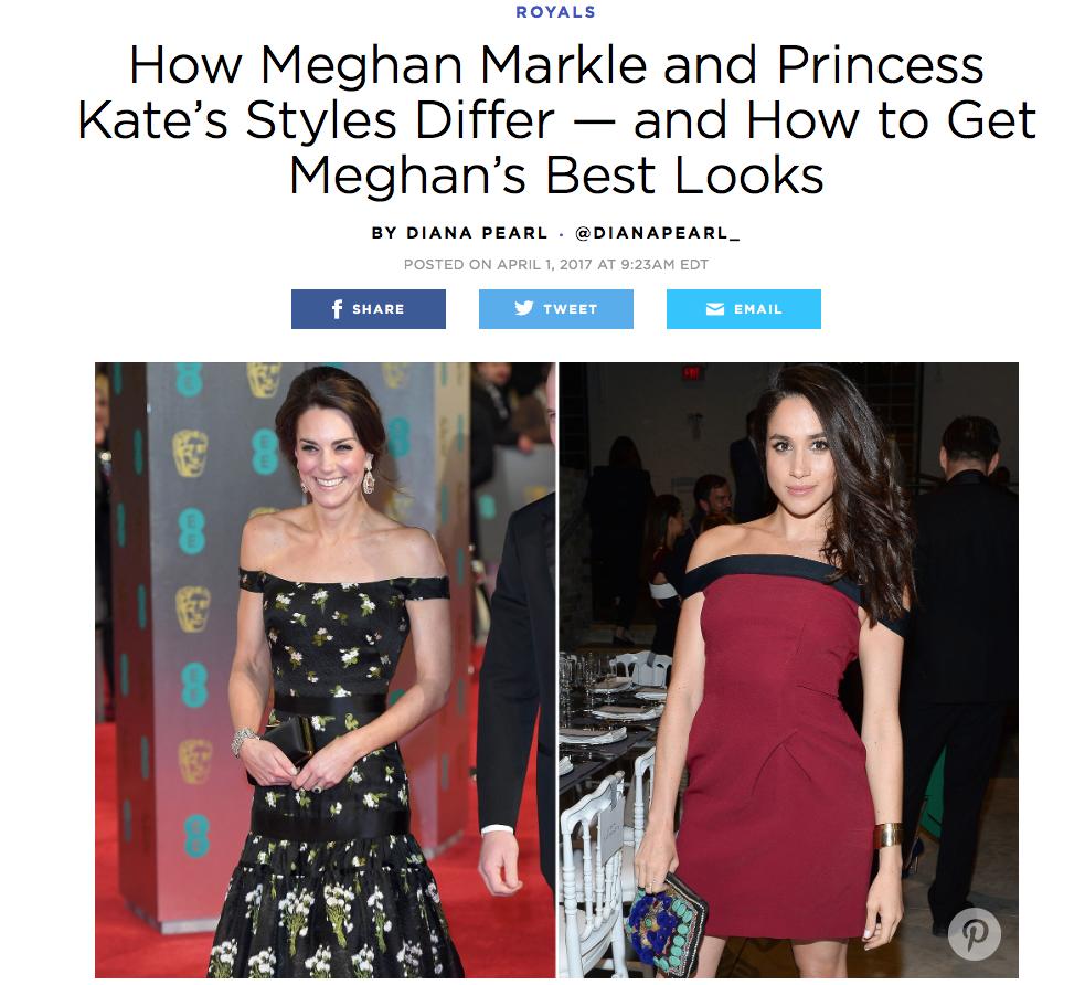 People Magazine Meghan's Mirror