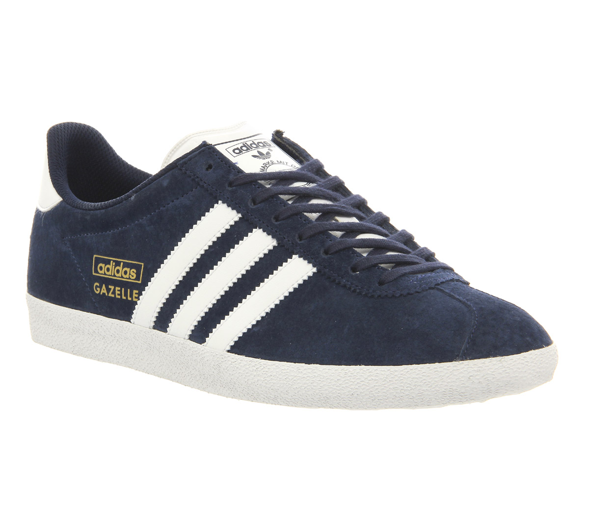 Adidas Originals Gazelle Sneakers in Navy Suede Meghan's