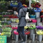 Meghan Markle Flower Shopping
