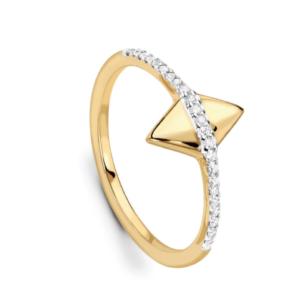 Meghan Markle Gold Arrow Ring