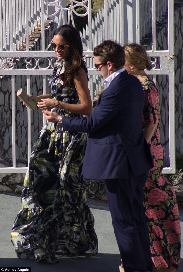 4b07065734 Meghan and Harry attended the wedding of Harry's good friend Tom Inskip and  Laura Hughes-Young together this weekend in Jamaica. It marks an important  step ...