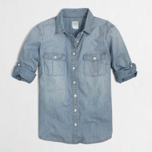 75870189b4c J. Crew Classic Chambray Shirt