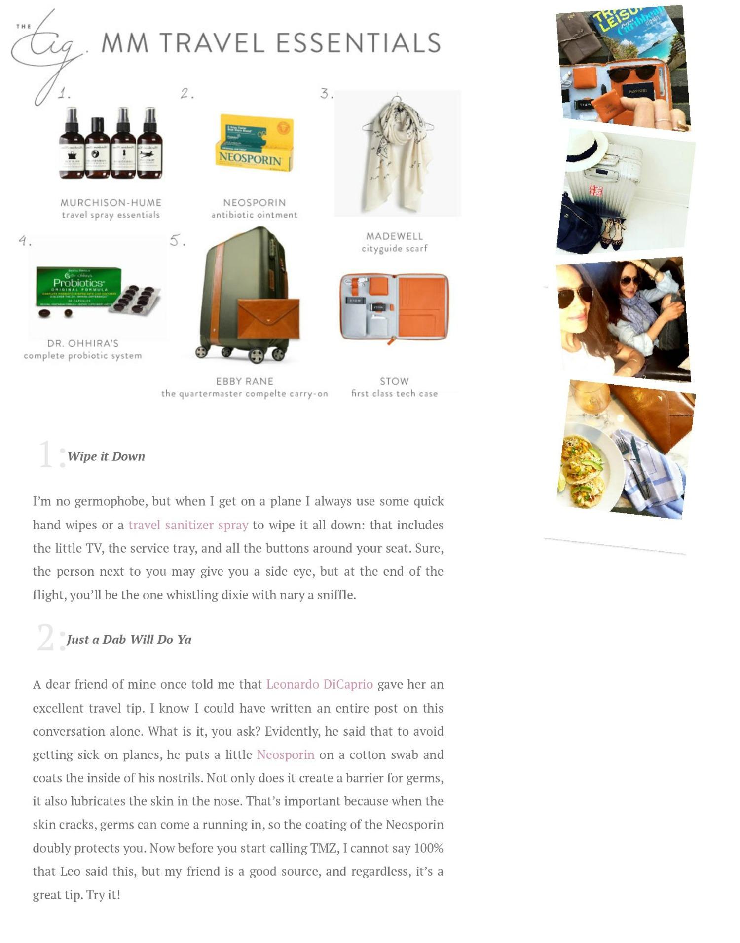 Fashion Blog Post Essentials