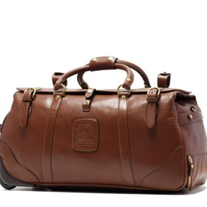 Meghan Markle Brown Leather Suitcase