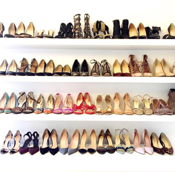 Meghan Markle Shoe Closet