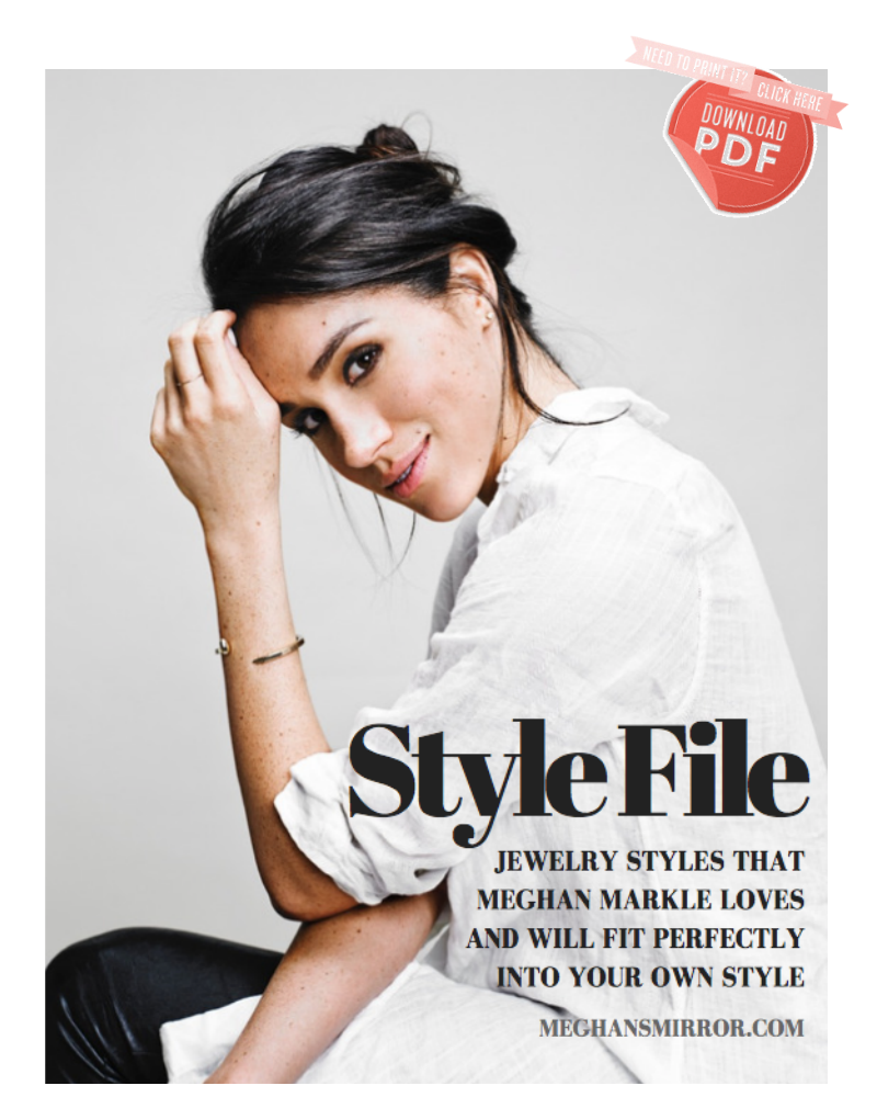 Meghan Markle's Jewelry Style Guide