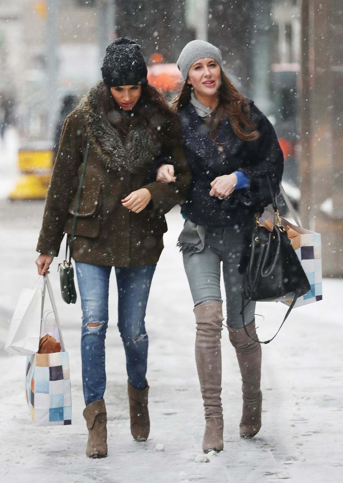 Stylist Saturday Meghan Markle S Winter Shopping Style Meghan S