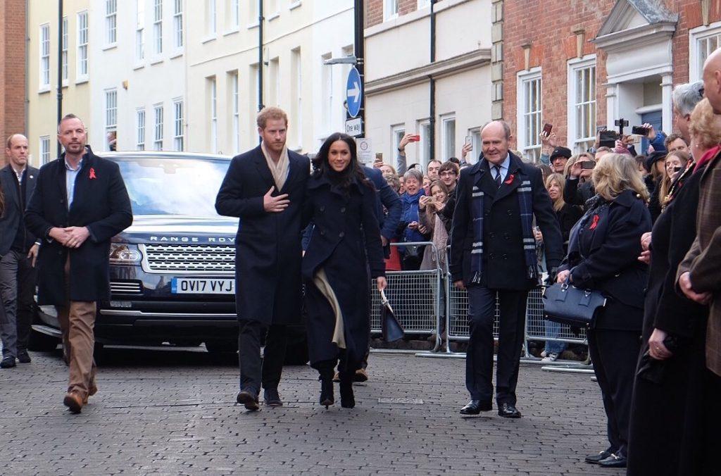 Meghan Markle Nottingham Prince Harry