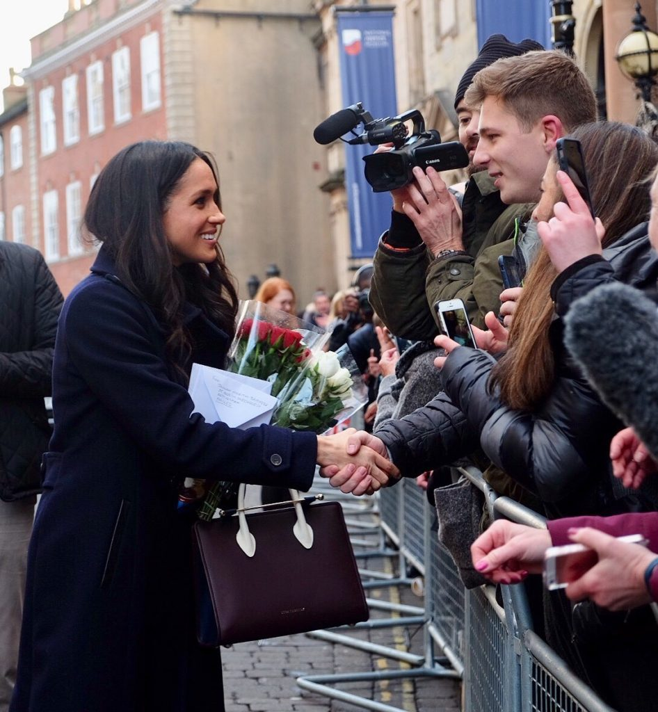 Meghan Markle Nottingham Prince Harry