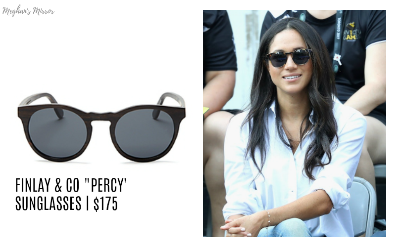 """4d9fdc62ba The look of love comes in tortoise shell. Hide from the photographers in  royalty-friendly shades. Buy it here  Finlay + Co """"Percy"""" Sunglasses"""