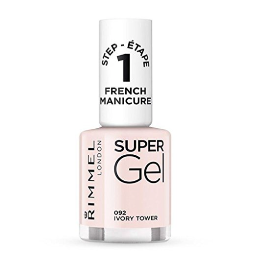 Rimmel London SuperGel Polish In Ivory Tower