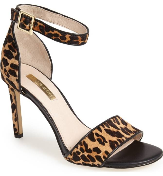 Meghan Markle Louise et Cie Orla Leopard Shoes
