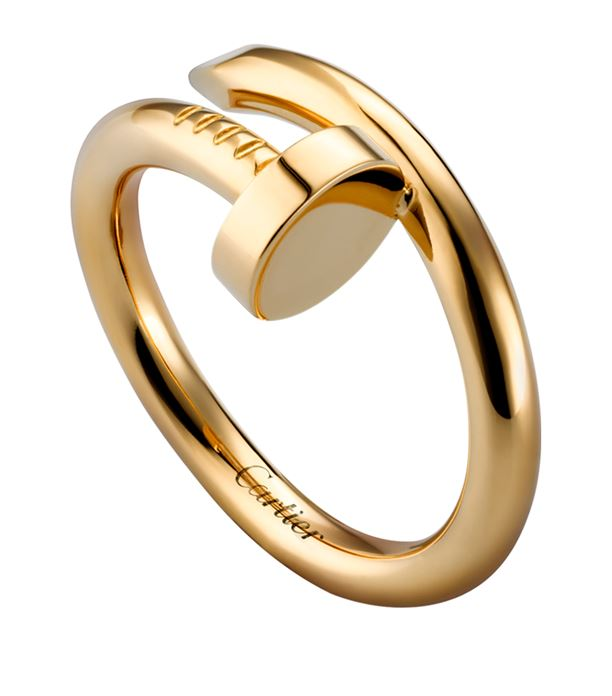 e4415139bdc5a Cartier Juste Un Clou Ring in Yellow Gold - Meghan's Mirror