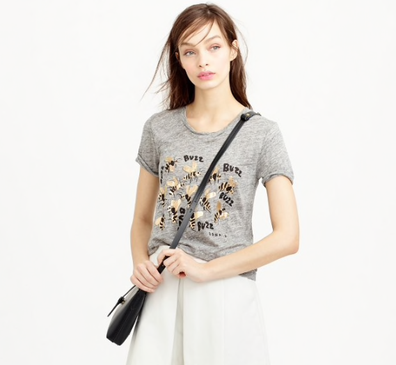 8823eac8e7 J.Crew Save the Bees T-Shirt - Meghan's Mirror