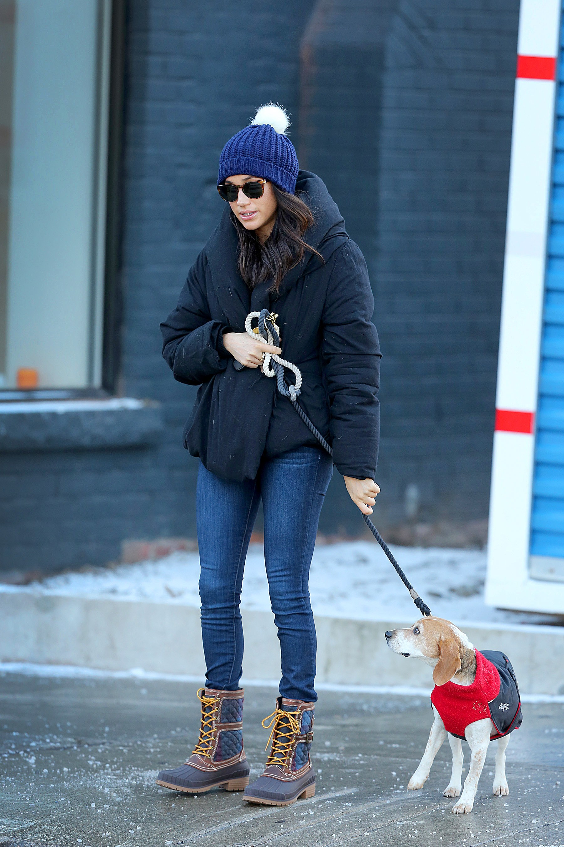 Tig Throwback Thursdays Meghan Markle S Winter Style Tips