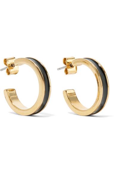 6aed47c00f Isabel Marant Gold Hoop Earrings - Meghan's Mirror