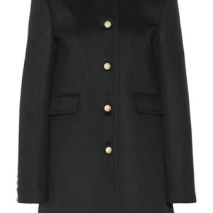 Meghan Markle Rachel Zane Gucci Black Coat