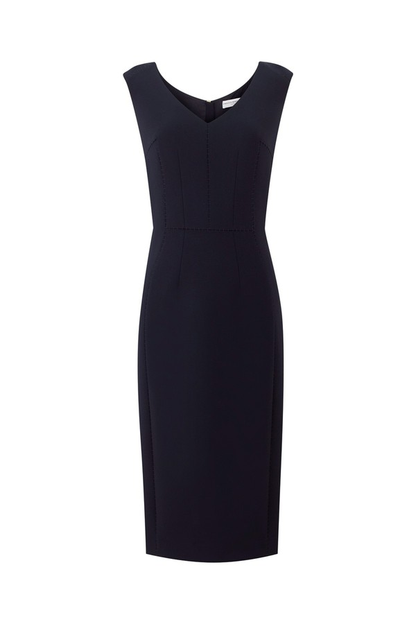 Meghan Markle Amanda Wakeley Navy Dress