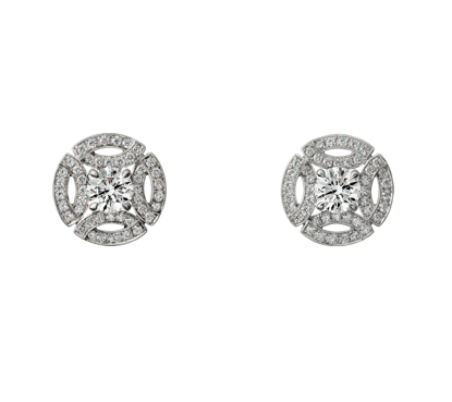 ebb75e4a97a Cartier Diamond   White Gold Earrings - Meghan s Mirror