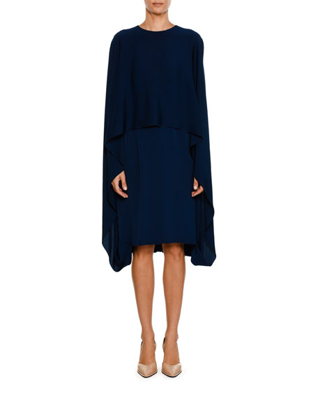 a90e16ad574 Stella McCartney Cape Front Dress. Swoon. Meghan Markle wore ...