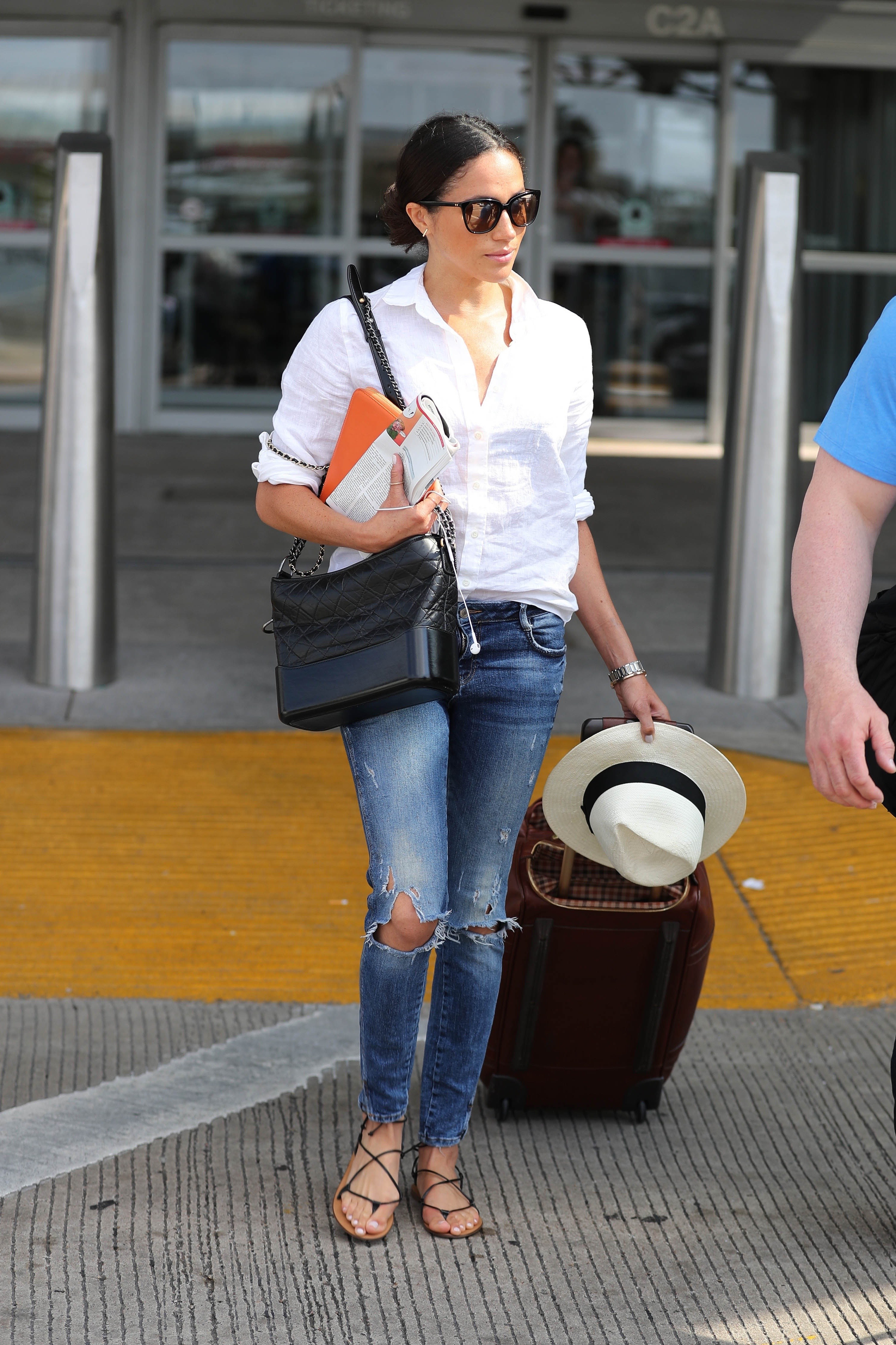 Stylist Saturday Meghan S Chic Airport Style Meghan S