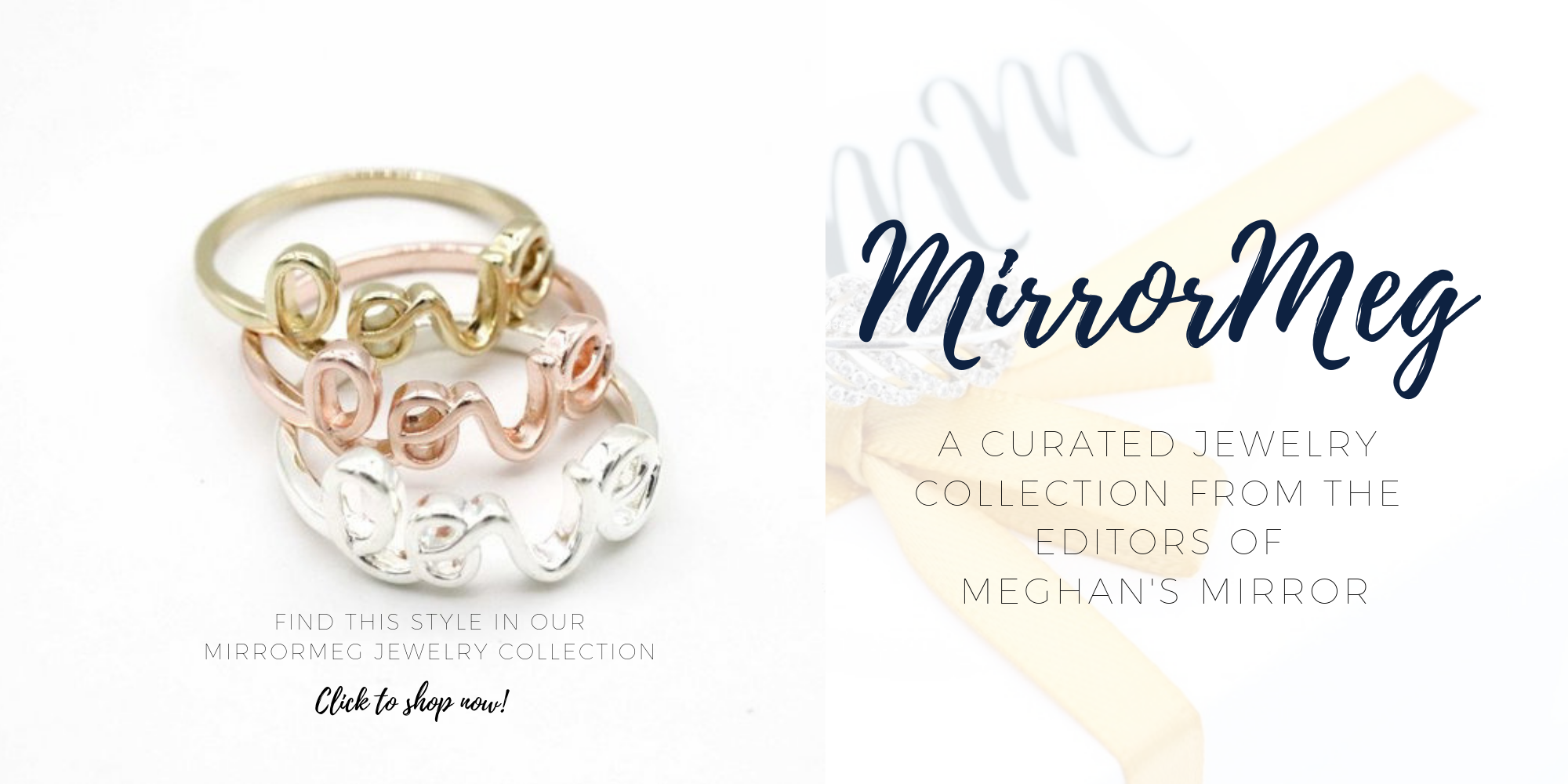 MirrorMeg Love Ring Meghan Markle Sussex