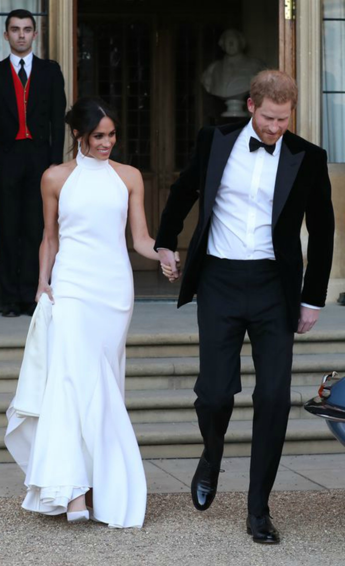 meghan markle s stella mccartney evening wedding dress meghan s mirror meghan s mirror