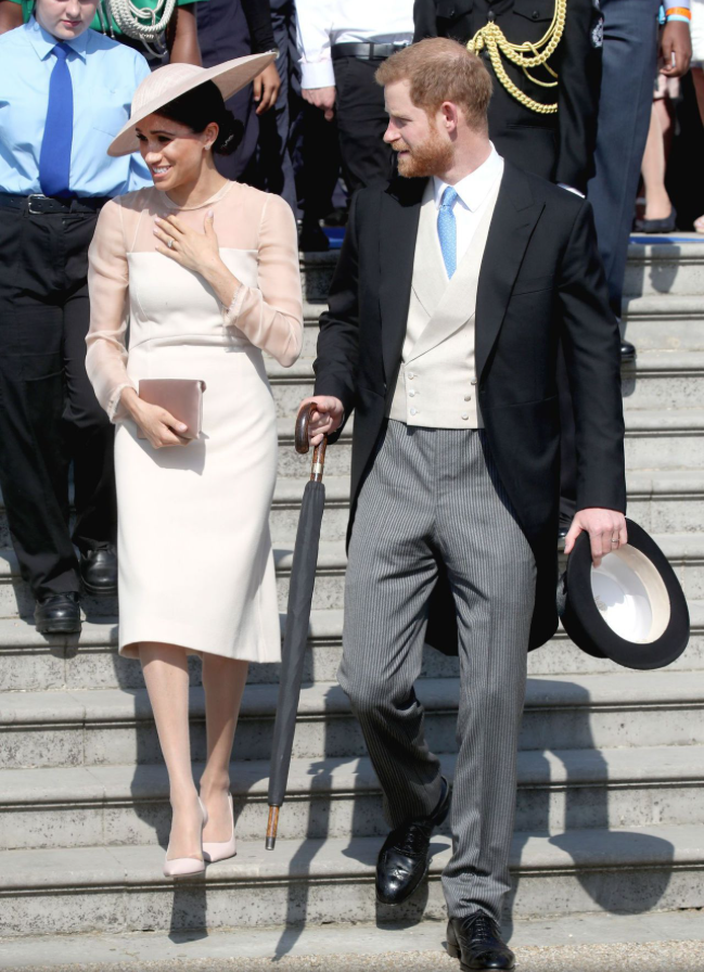Meghan and Harry Attend the Prince Of Wales  Birthday Garden Party ... 6b689f6bd2d2