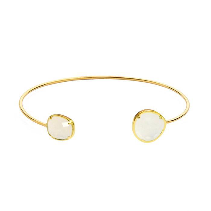 qualité-supérieure meilleur authentique assez bon marché Tai Jewelry Asymmetrical Circle Stone Bracelet - Meghan's Mirror