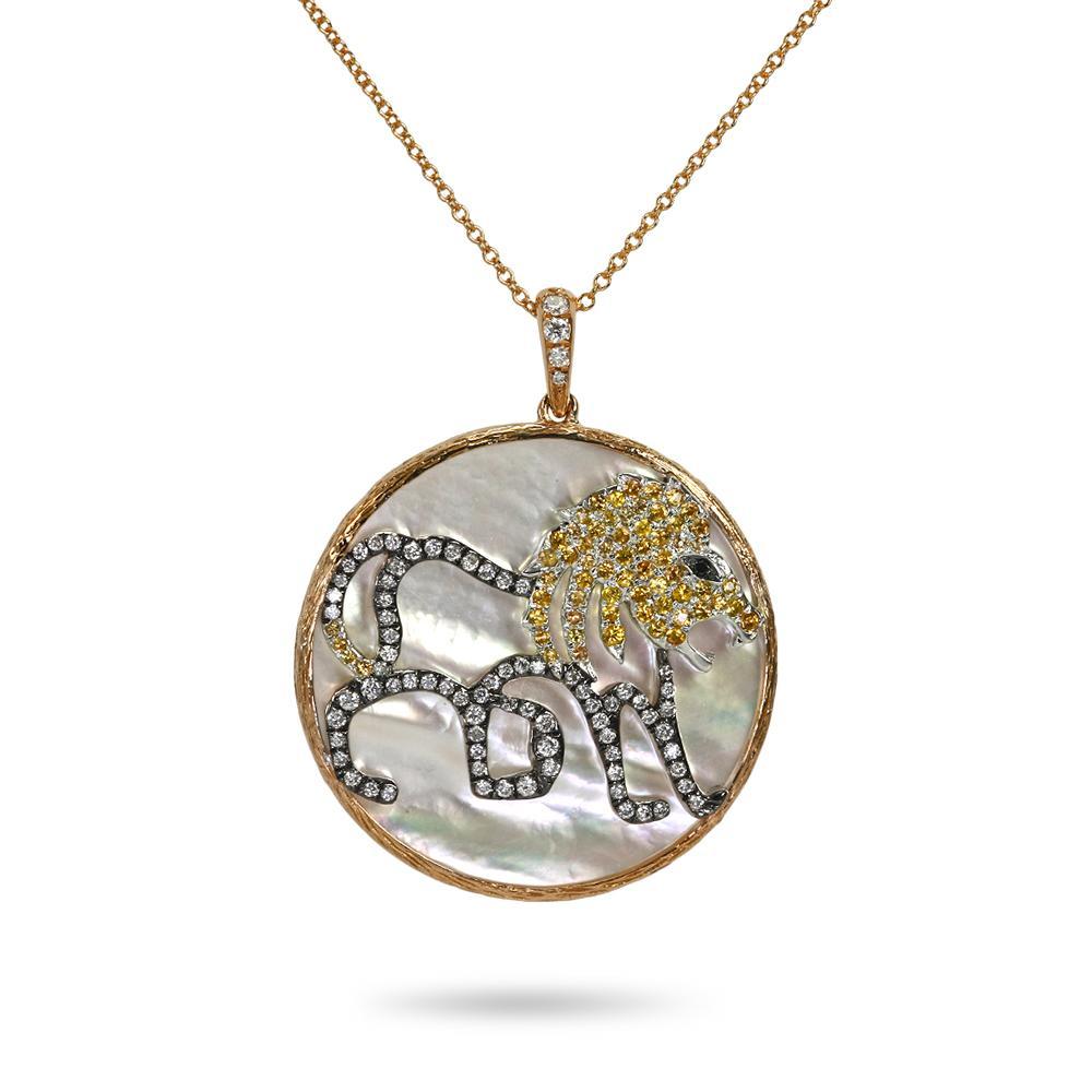 Khai Khai Jewelry Zodiac Medallion