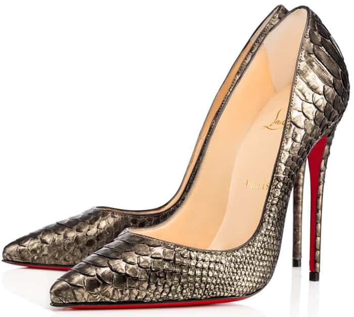 more photos f69c0 16852 Christian Louboutin So Kate in Python - Meghan's Mirror