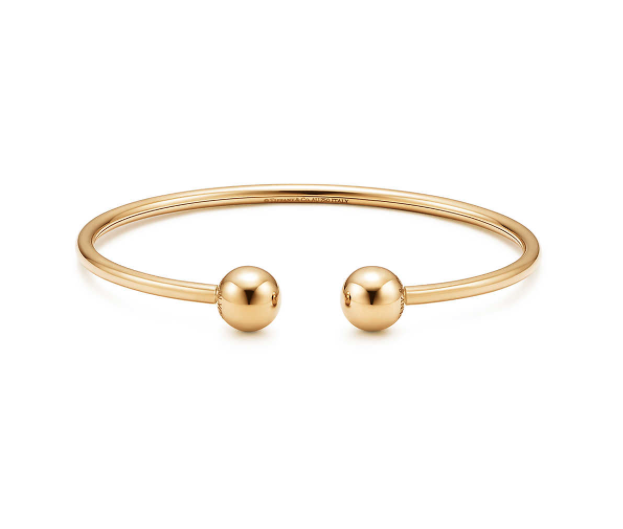 2f86421f9 18k gold. Size medium. Fits wrists up to 6.25″ 8 mm diameter. Designed to  be comfortable and easy to wear