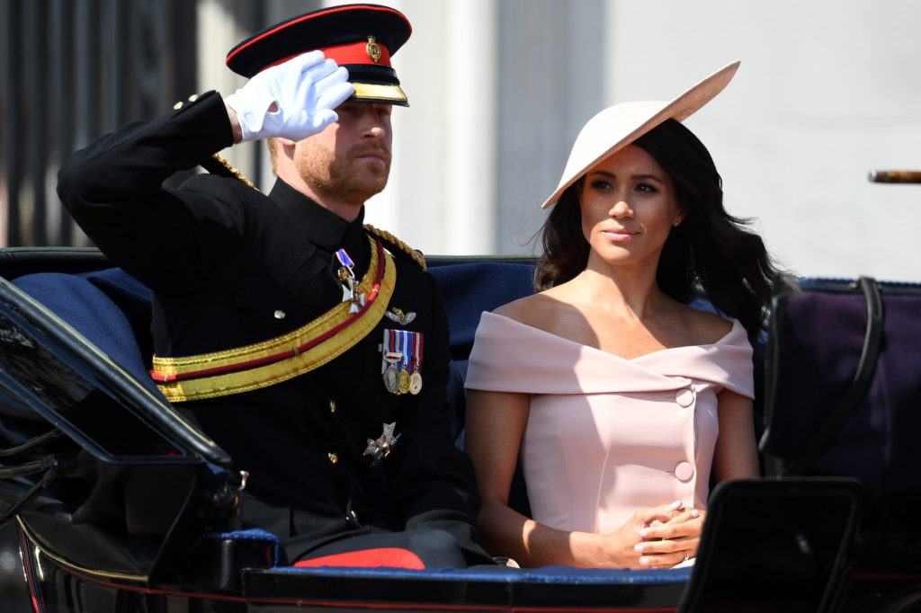 Meghan Markle Sussex Trooping the Colour 2018