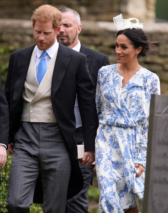 Meghan Harry McCorquodale Wedding
