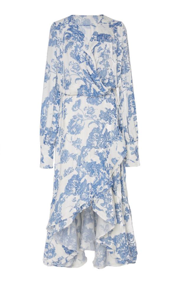 Meghan Markle Oscar de la Renta Floral Dress
