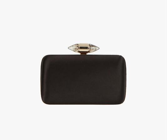 66edb85b1a Givenchy Satin Clutch with Jewelry Clasp - Meghan s Mirror