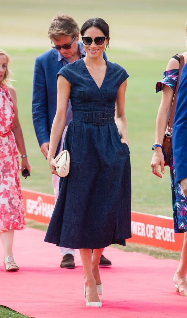 Get Meghan Markle S Denim Dress Style Meghan S Mirror