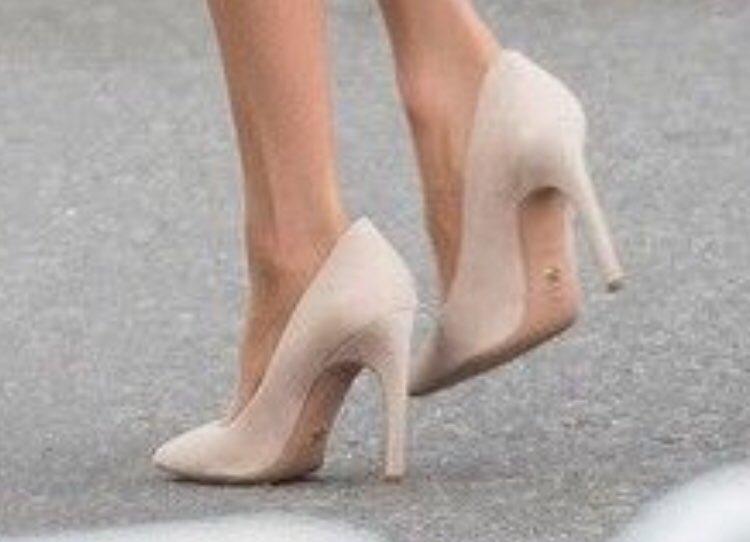 a0f36af71372 Bespoke Christian Dior Suede Heels - Meghan s Mirror