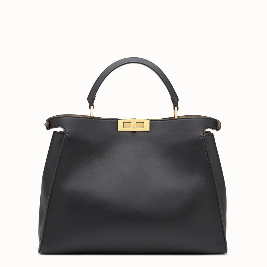 569173ff9 Fendi Peekaboo Essentials Black Handbag