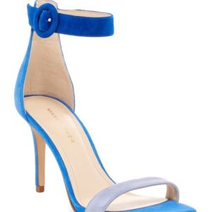 6df5c5e1da4 Marc Fisher Bettye Blue Suede Sandals