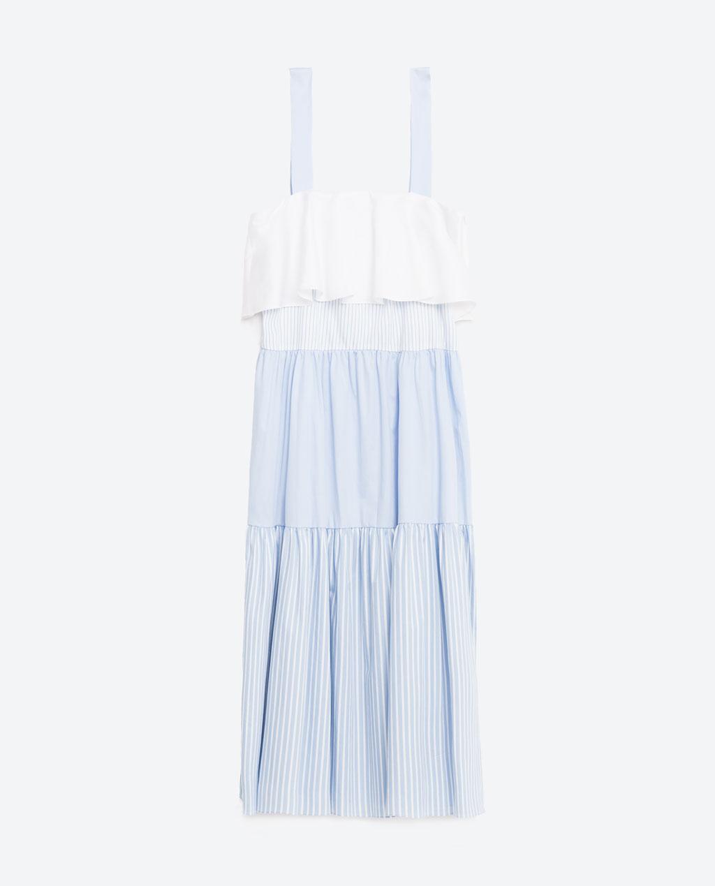 Zara Patchwork Studio Dress
