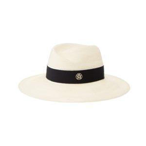 Maison Michel Virginie Straw Fedora Hat b85bd9fd9eea