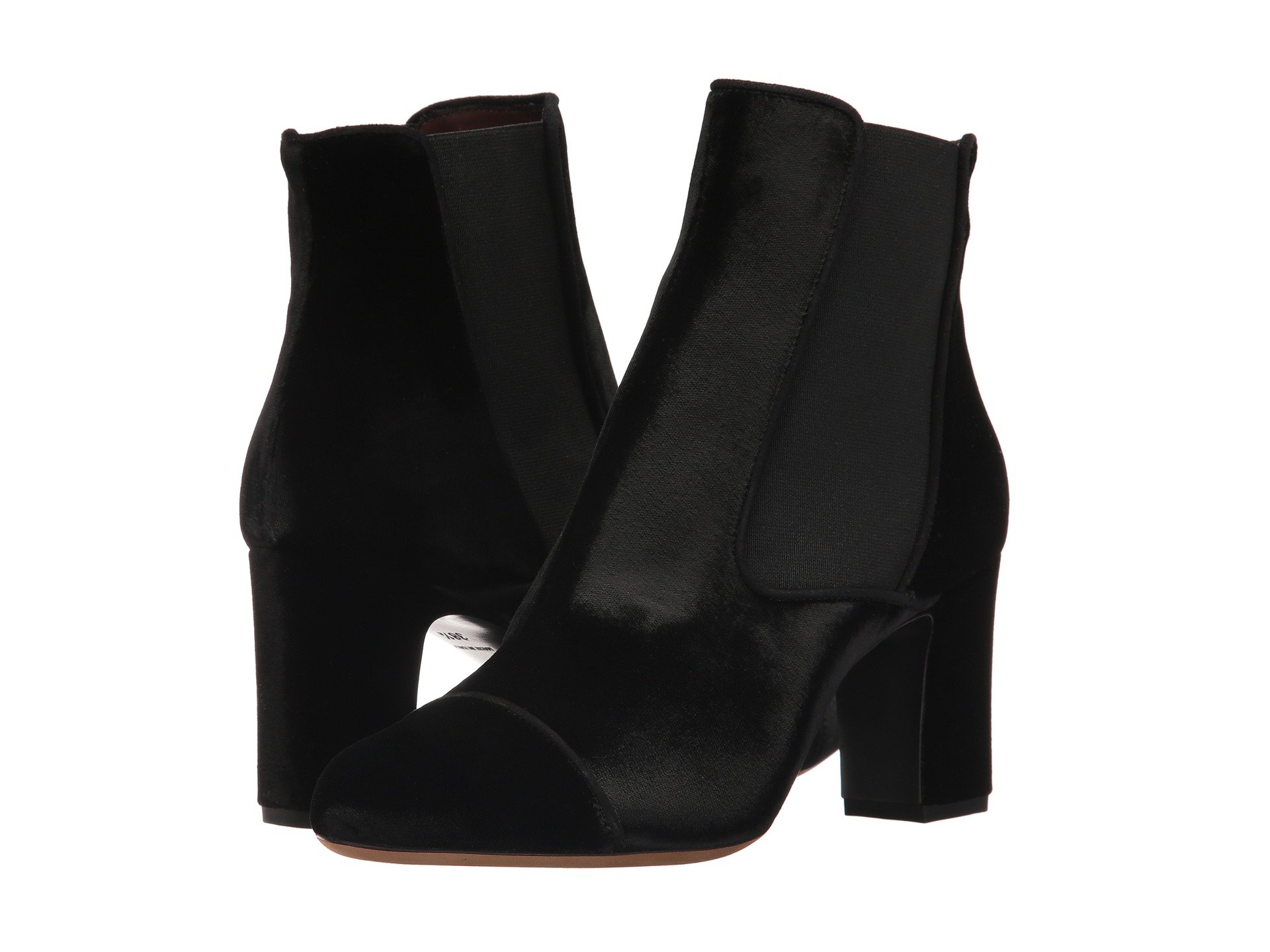 000a8e472 Get Meghan Markle's Black Suede Ankle Boot Style - Meghan's Mirror