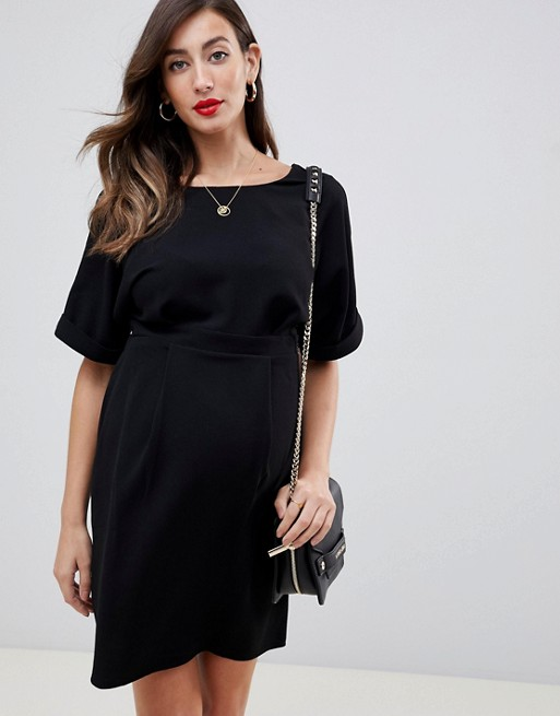 76058ae2f66 ASOS Maternity Wiggle Dress. A little black ...