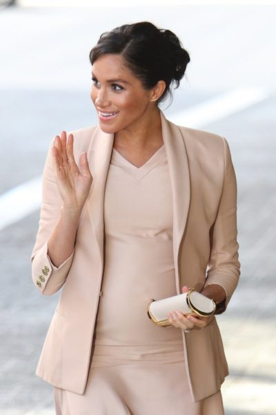 Meghan Markle National Theatre Brandon Maxwell