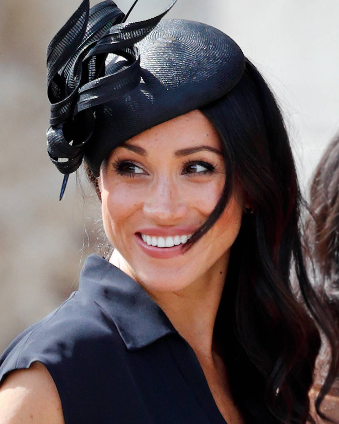 ada07edce46 Since fascinators aren t a North American tradition that Meghan would be  accustomed to