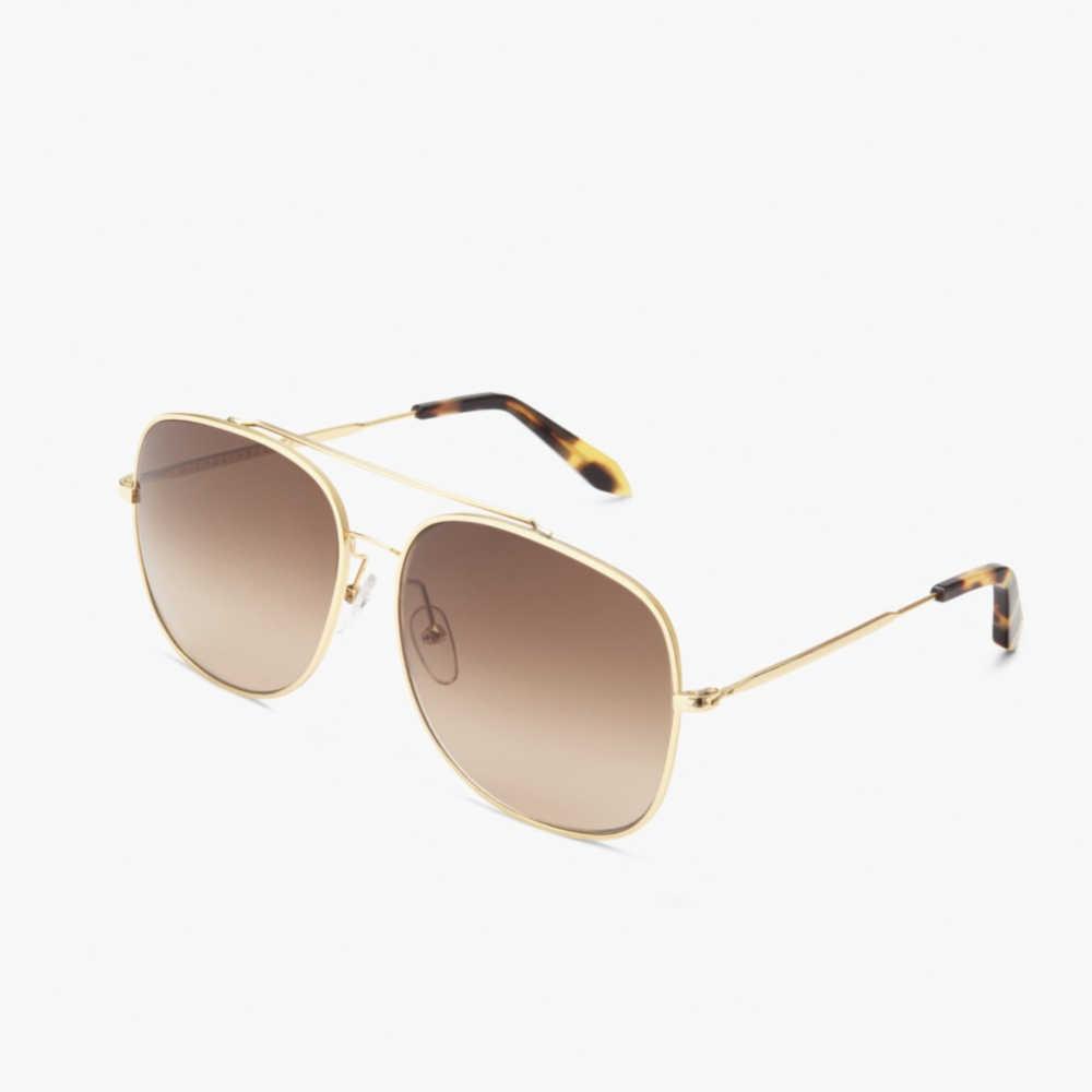 a37158406 Victoria Beckham Metal Navigator Sunglasses - Meghan's Mirror