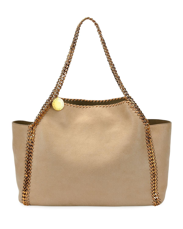b083bcaa47 Stella McCartney Falabella Medium Tote. Stella McCartney s signature Falabella  handbag ...