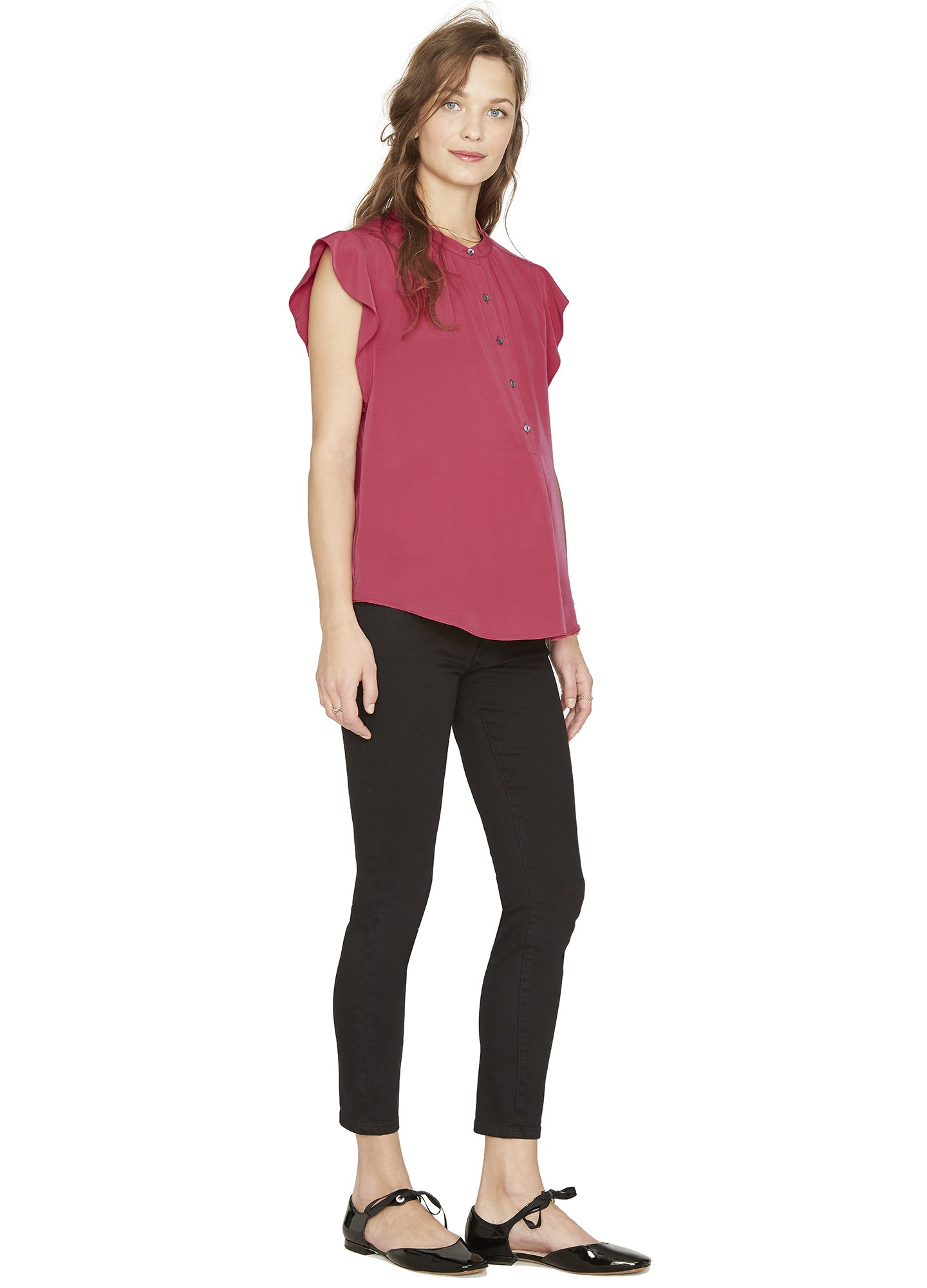 ec08311b846cce HATCH Collection Nearly Skinny Maternity Jeans - Meghan's Mirror